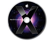 Mac OS Leopard cd