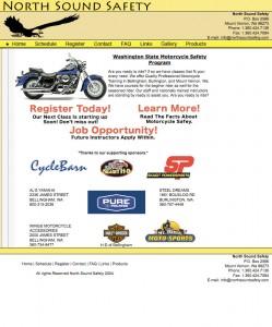 Old North Sound Safety Website