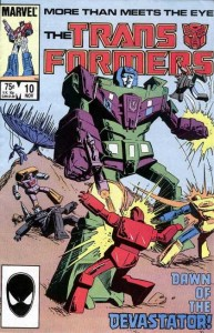 Transformers Comic Issue 10 - Dawn Of The Devastator
