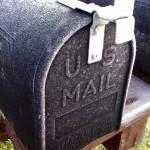 Frosty Mail Box