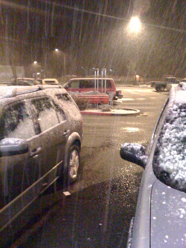 Snowing In Juneau