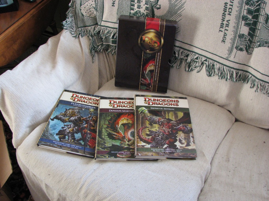 Dungeons & Dragons: Core Rulebook Gift Set