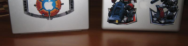 Transformers Macbook Pro Decal