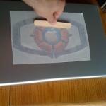 Applying The Matrix Sticker To My Apple PowerBook