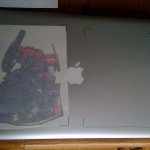 Optimus Prime Vinyl Sticker