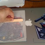 Optimus vinyl Sticker