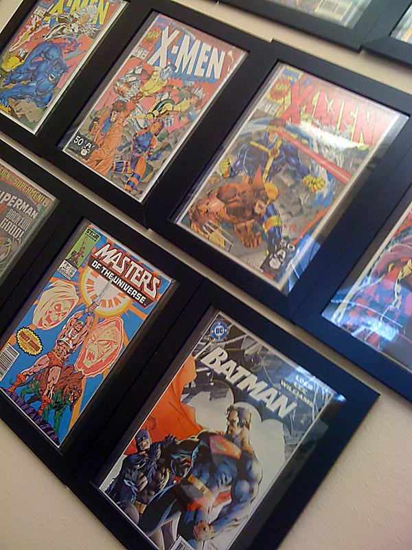 Ikea comic book photo frame hack yoshicast before i started searching for comic book photo frames i did some research regarding how safe it is to present your comic books out in the open solutioingenieria Choice Image