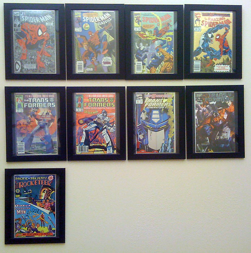 ikea comic book photo frame hack yoshicast