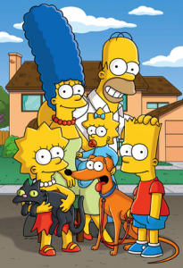 The Simpsons Family Picture