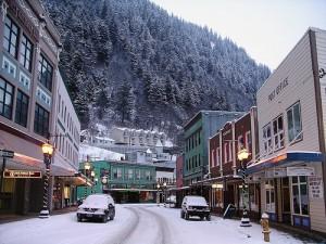 snowy Juneau