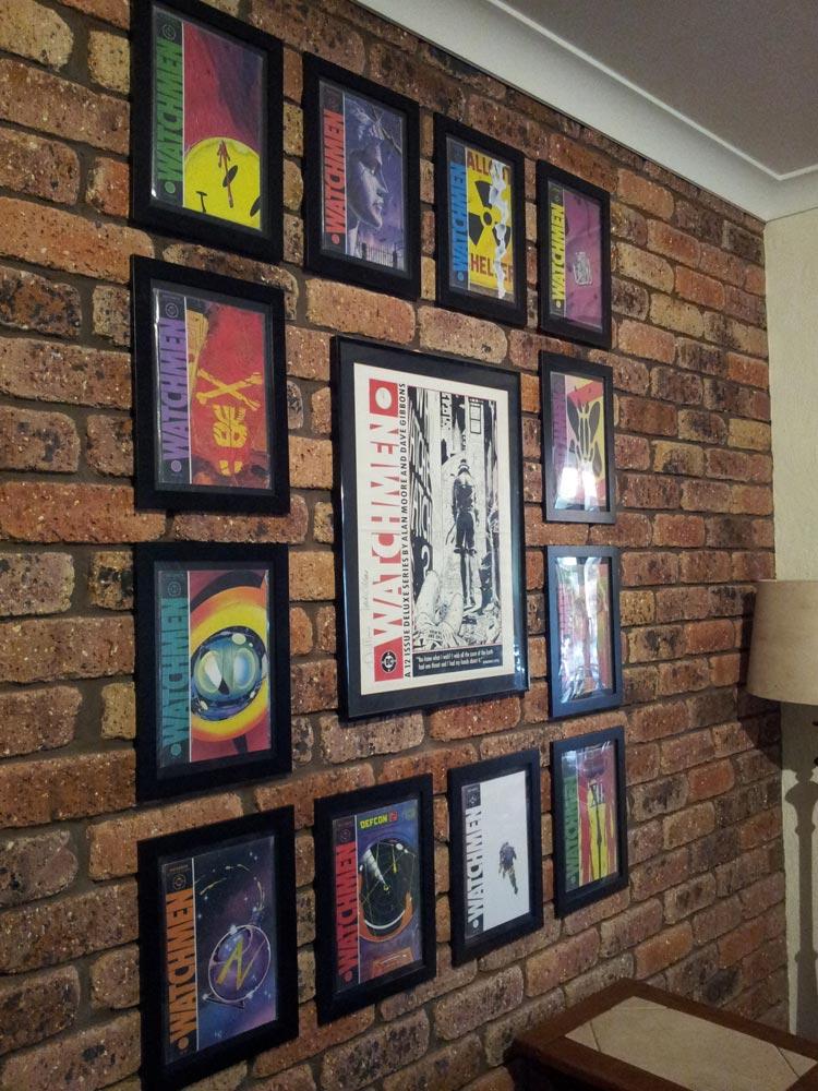 comics framed in australia yoshicast. Black Bedroom Furniture Sets. Home Design Ideas