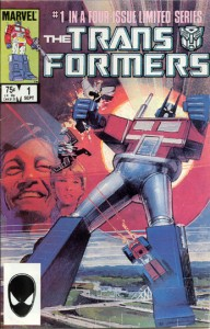 Marvel's Transformers Comic Book #1. 1984