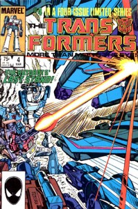 Transformers issue 4