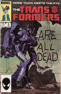 Marvels Comics' Transformers Issue #5: The New Order
