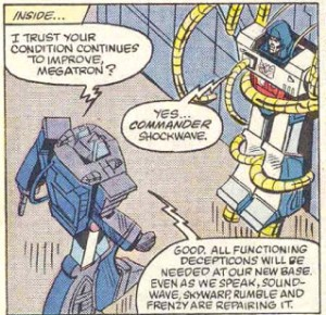 Transformers Issue 6 Shockwave