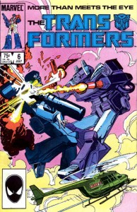 Marvels Comics' Transformers Issue #6: The Worse of Two Evils