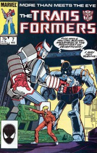 Marvels Comics' Transformers Issue #7: Warrior School