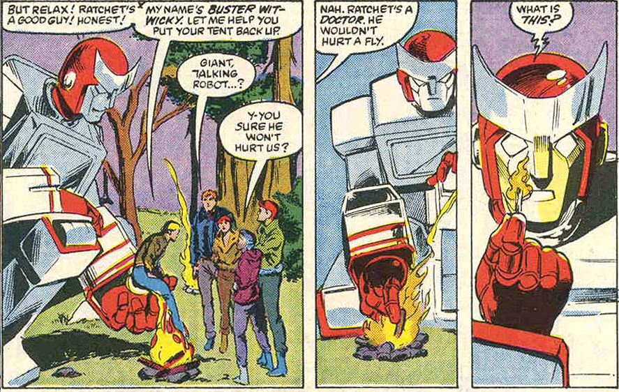 Transformers Review Issue 7: Warrior School!   YOSHICAST