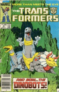 Marvels Comics' Transformers Issue #8: Repeat Performance