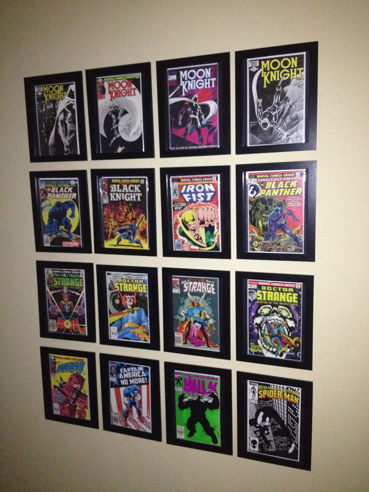 Brennan S Texas Comic Book Wall Yoshicast