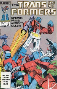 Transformers Issue 12 Cover