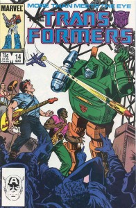 Transformers cover issue 14