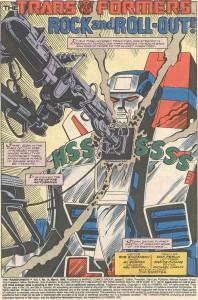 Transformers issue 14 branding
