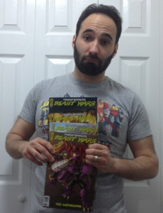 Some Awesome 'Beast Wars The Gathering' comics. 1-4