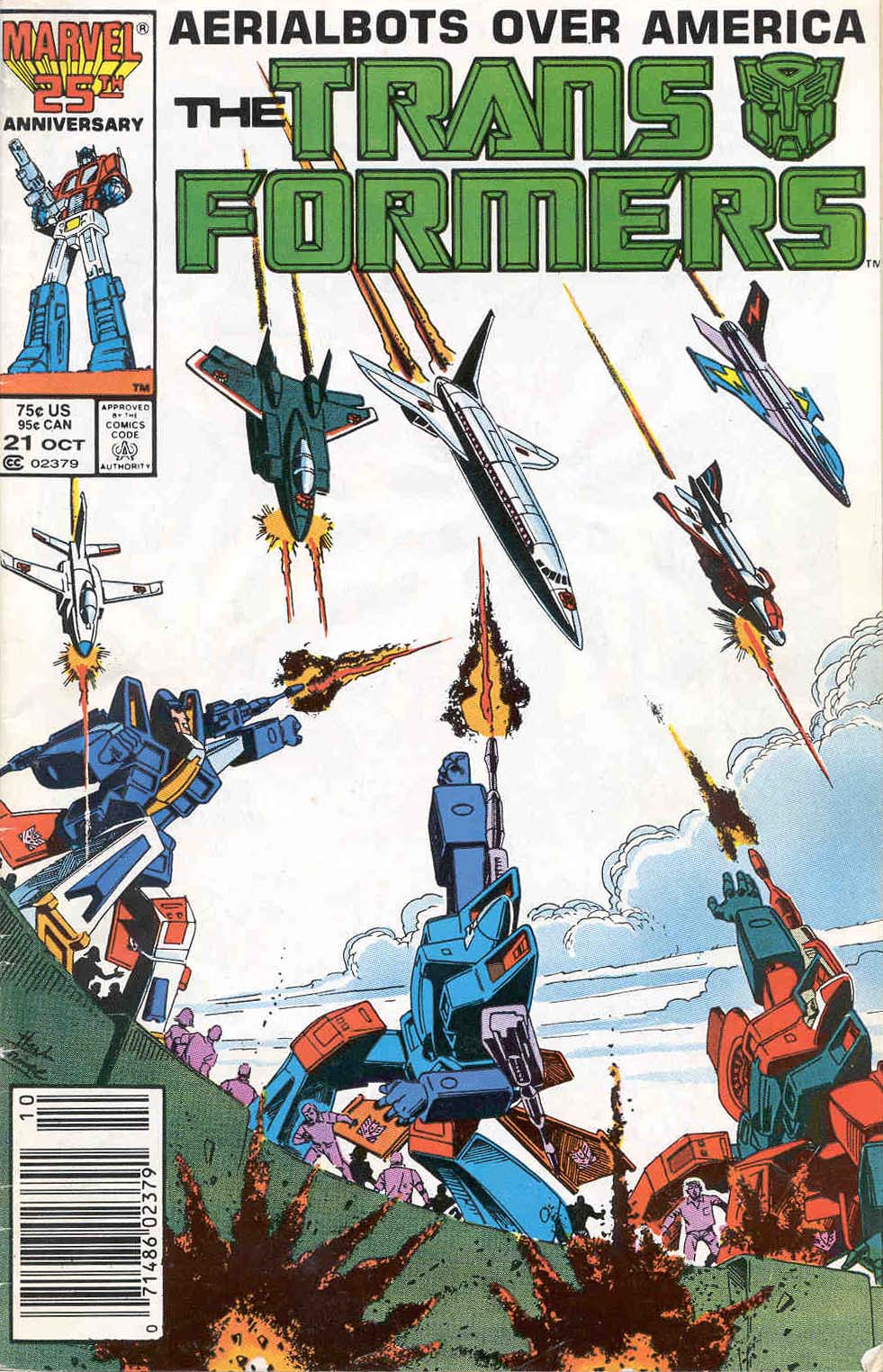 Transformers issue 21 Cover