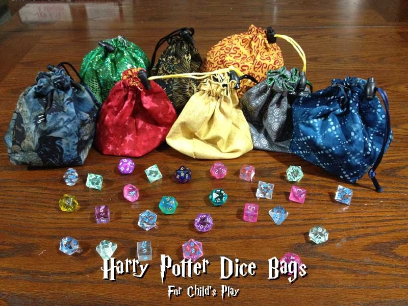 Harry Potter dice Bags