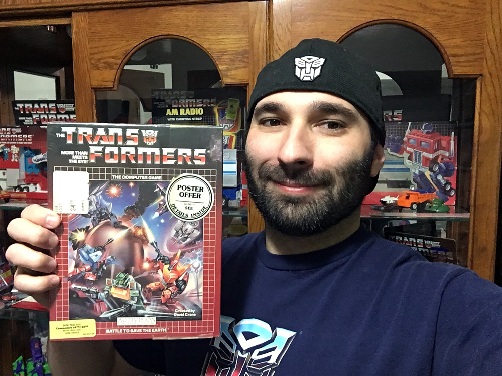 My personal copy of The Transformers: Battle To Save The Earth.