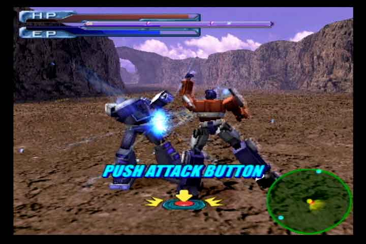 Transformers_Tatakai_Optimus_Button_Sequence_Gameplay
